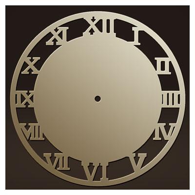 دانلود طرح آماده ساعت دیواری مناسب برای برش لیزر یا cnc