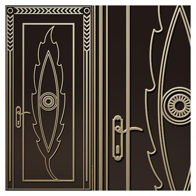 دانلود طرح لایه باز تزئینی جهت برش لیزر یا حک و cnc روی درب و کمد