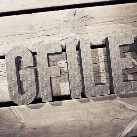موکاپ زیبای نمایش لوگو یا متن شما بصورت طرح سه بعدی چوبی