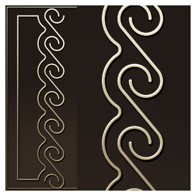 دانلود حالت تزئینی جهت حک یا برش لیزر و cnc روی درب یا کمد