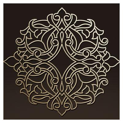 دانلود فایل لایه باز طرح تزئینی اسلامی و تذهیبی