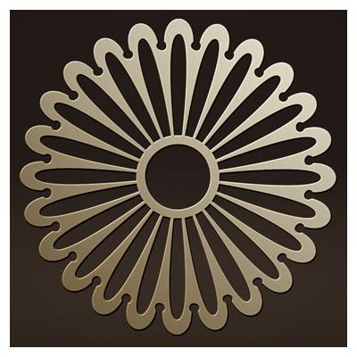 وکتور لایه باز طرح خورشیدی مناسب برای برش لیزر یا حک و cnc