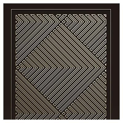طرح لایه باز پنل مشبک بصورت خطوط موازی جهت برش لیزر یا cnc
