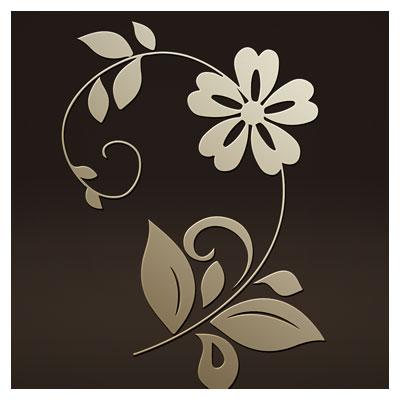 دانلود طرح و المان تزئینی گل و بوته جهت برش لیزر