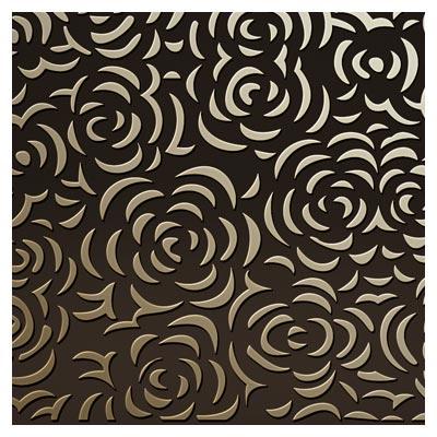 دانلود پس زمینه با طرح گل رز بصورت پترن جهت برش یا حکاکی لیزر و cnc