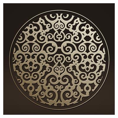 دانلود طرح دایره ای تزئینی مناسب برای برش cnc یا لیزر
